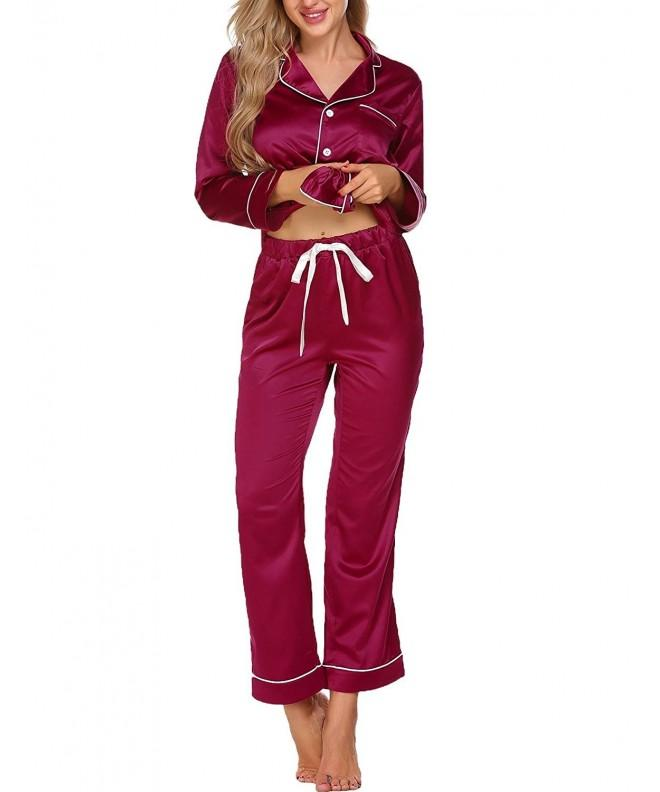 Aimado Pajamas Button Down Sleepwear Loungewear