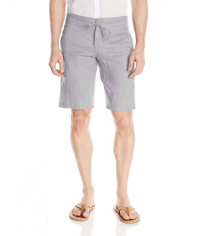 Sauvage Linen Pocket Short Stone
