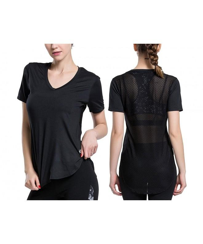 ChinFun Womens Sleeve Workout Running