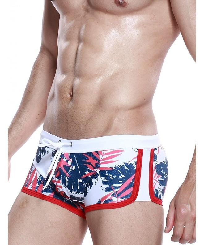 SEOBEAN Swimwear Boxer Trunks Colors