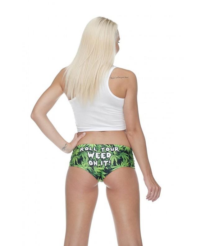 PantyHoes Rolling Panties Marijuana Hipster