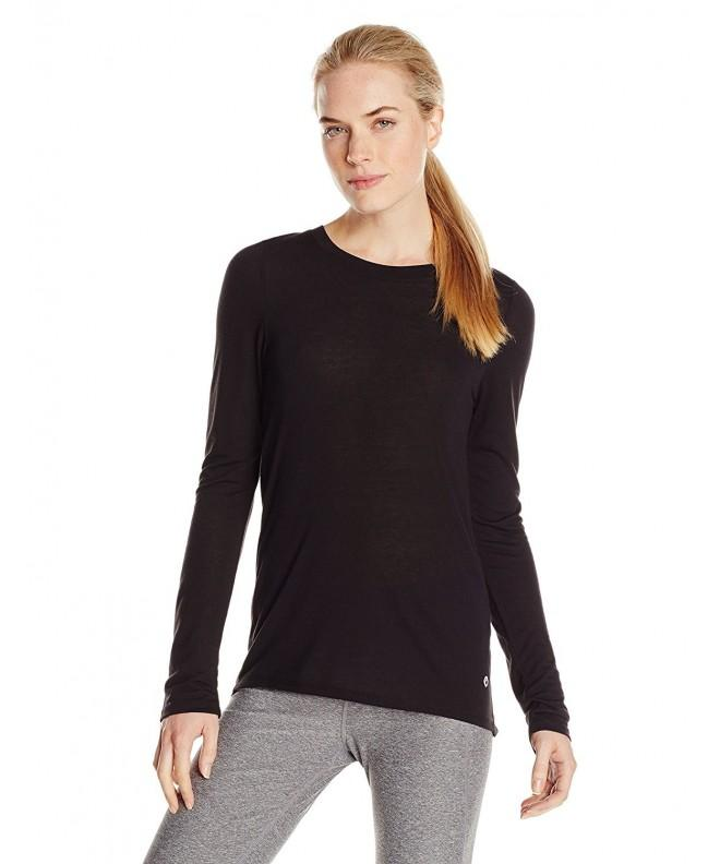 Colosseum Womens Happy Sleeve Black