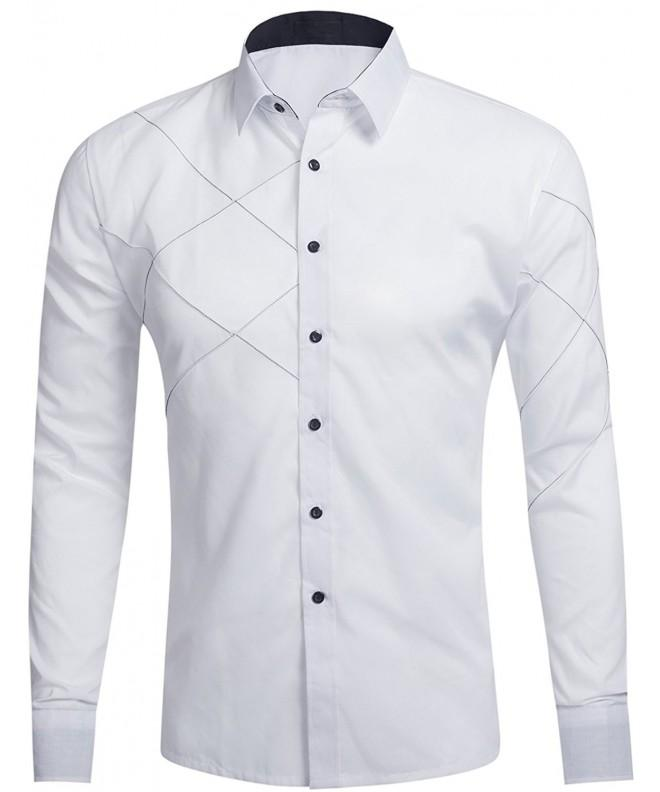 DOKKIA Fashion Cotton Fitted Button