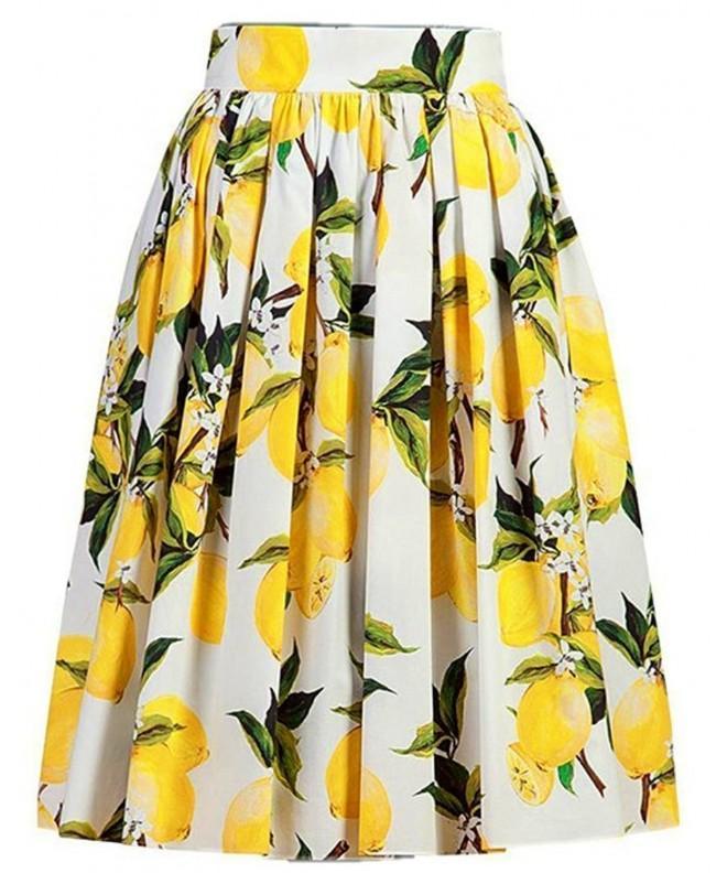 Alaroo Womens Floral Yellow Parachute