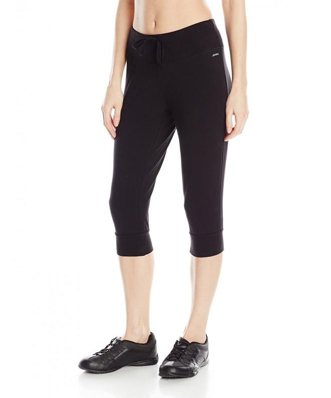 Jockey Womens Length Jogger Black