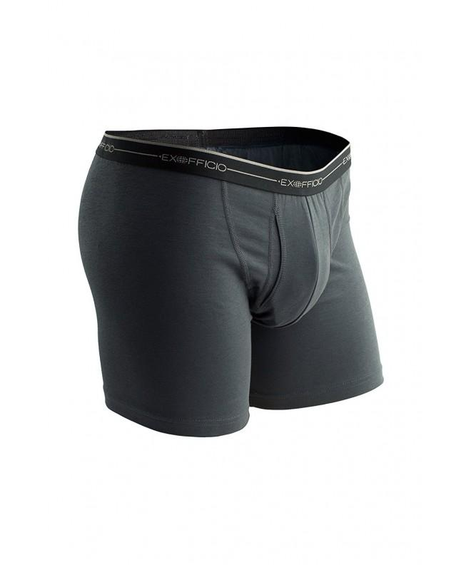 ExOfficio Mens Boxer Briefs Carbon