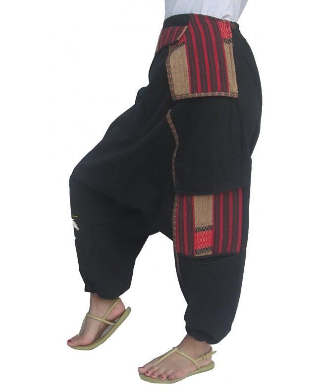 ChiangmaiThaiShop Gypsy Harem Pants L XXL