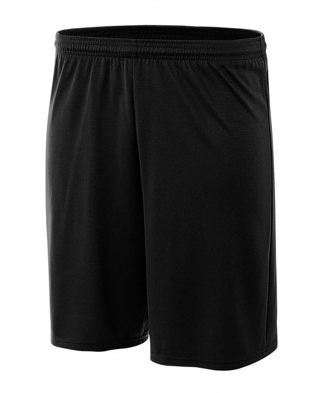 A4 Power Shorts Black Large