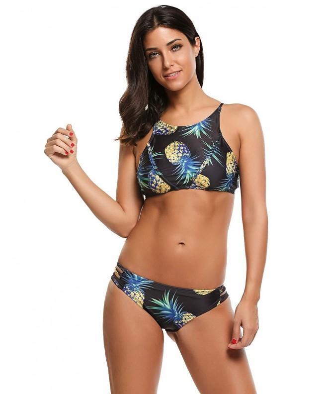 LUXILOOKS Women Halter Bikini Bottoms