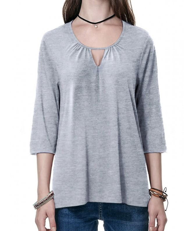 Womens Oversize Sleeve Blouses Sweaters