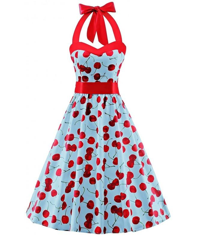 Fashion Rockabilly Halter Audrey Cocktail