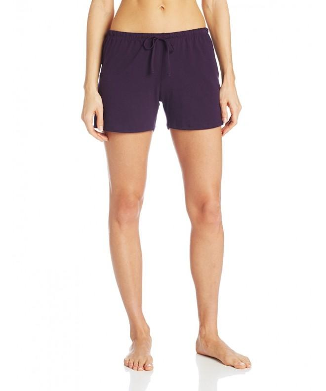 Jockey Womens Boxer Eggplant Medium