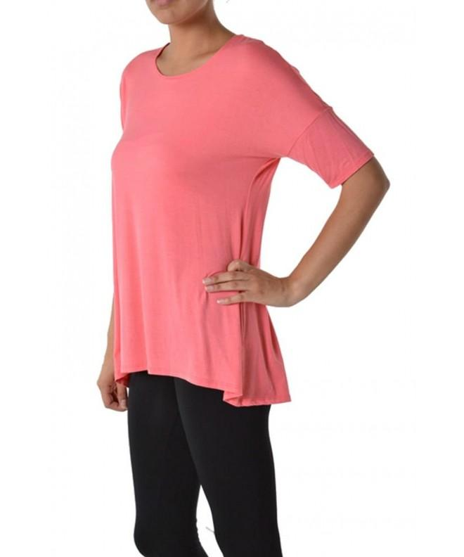 Womens Solid Color Rayon Sleeve