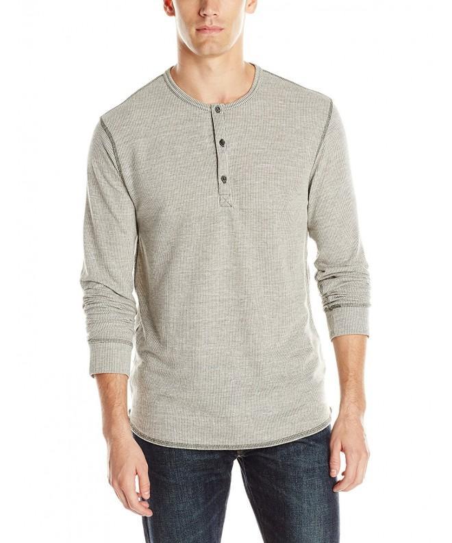 Alternative Henley T Shirt Vertigrain Stucco