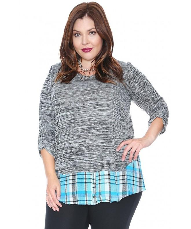Grayson Shop Space Plaid Tiered