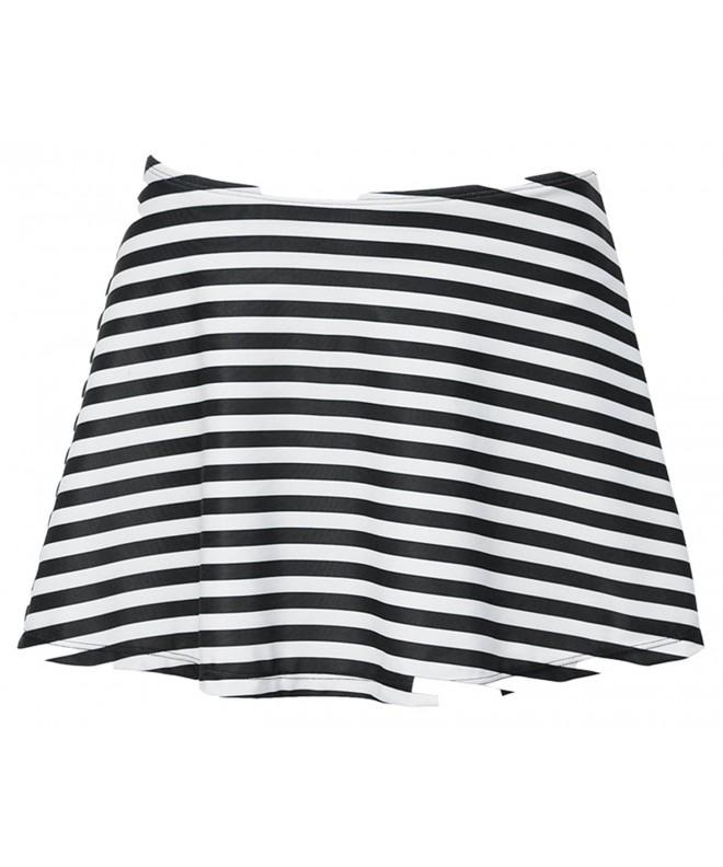 FLORAVOGUE Womens Bikini Bottom Stripes