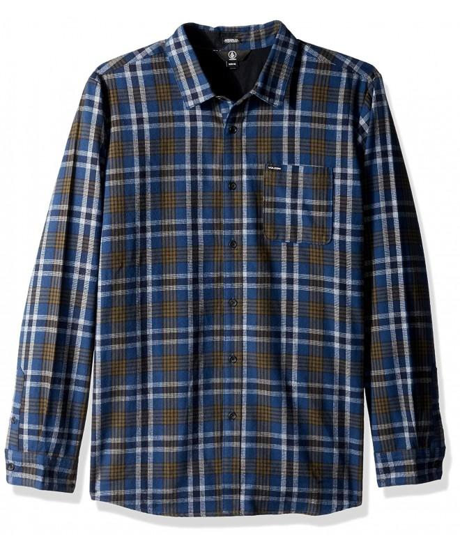 Volcom Mens Marcos Sleeve Flannel