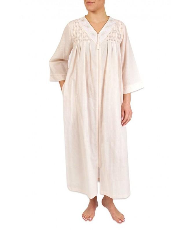 Heavenly Bodies Seersucker Coverup Lightweight