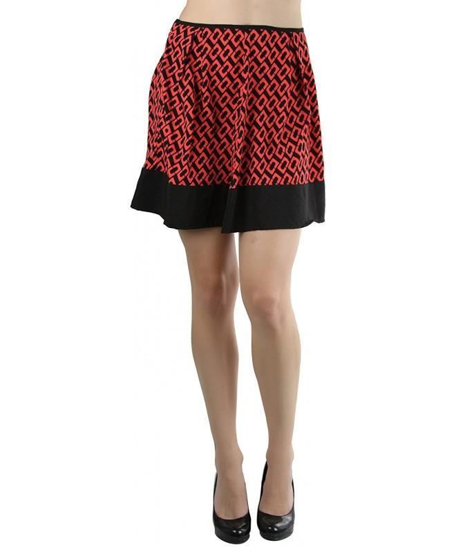 ToBeInStyle Womens Mini Skirt Rectangle