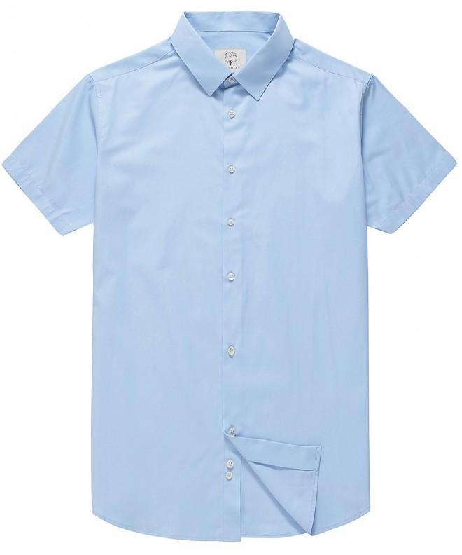Mocotono Sleeve Regular Collar Shirts