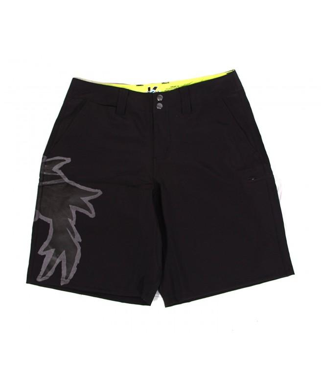 kKrows Night Boardshorts Black 34 Inch