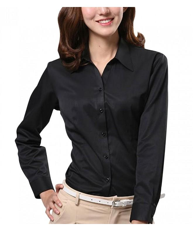 Dioufond V Neck Sleeve Button Formal