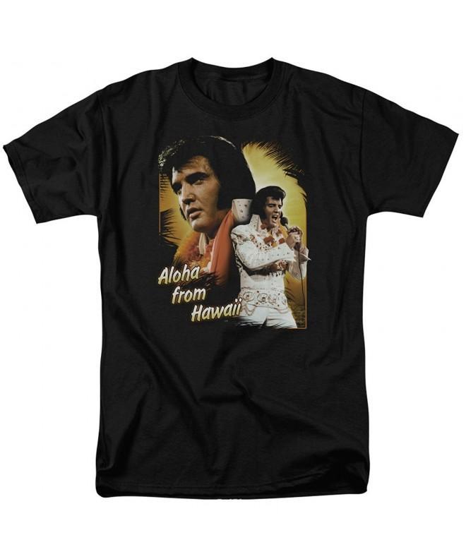 Elvis Presley Aloha Hawaii T Shirt
