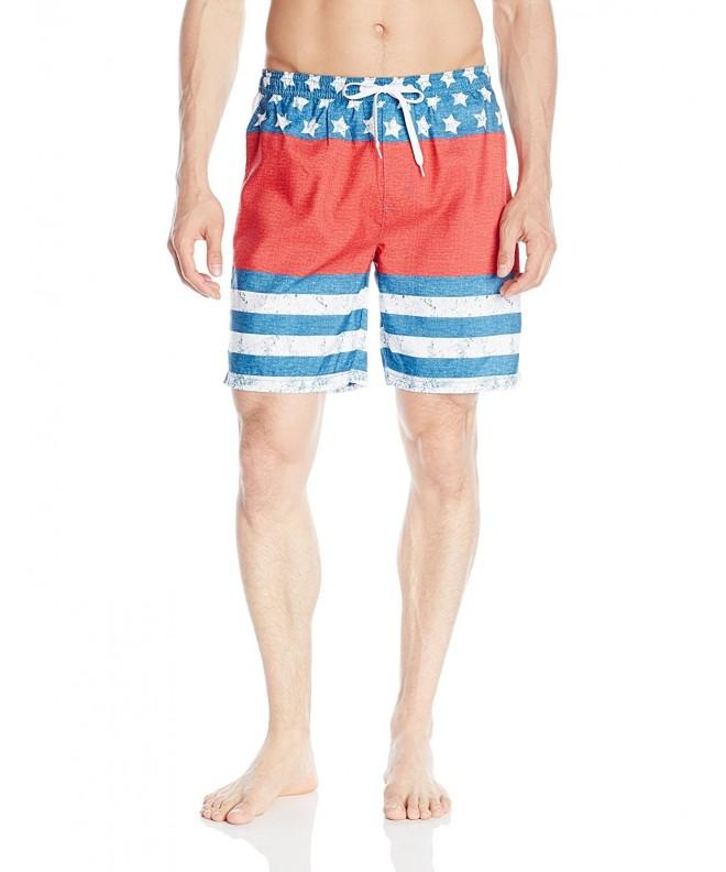Teal Cove Short Stars Stripes