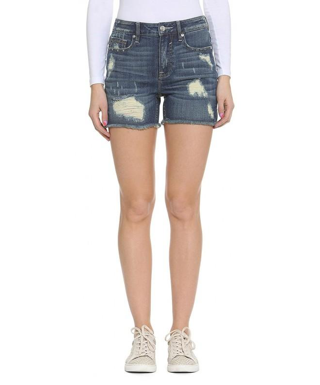 Vigoss Womens Denim Chelsea Short