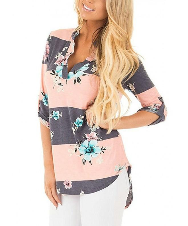 Elsofer Floral Blouse Sleeve Picture