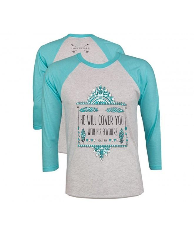 Southern Couture Christian T Shirt Feathers