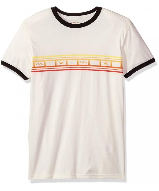 RVCA Stripe Ringer Antique White