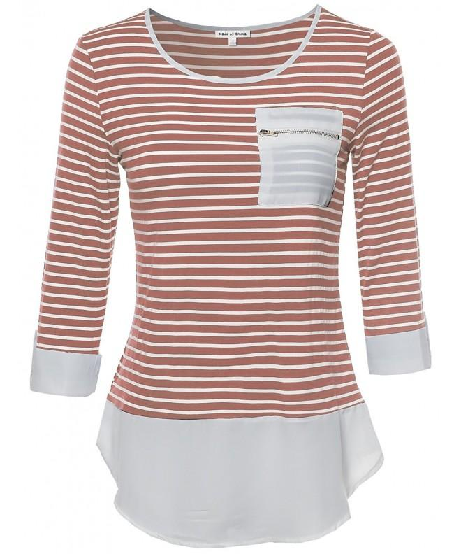 Made Emma Contemporary Stripe Sleeves