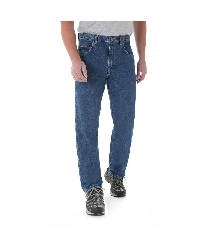 Wrangler Mens Rugged Relaxed Jeans
