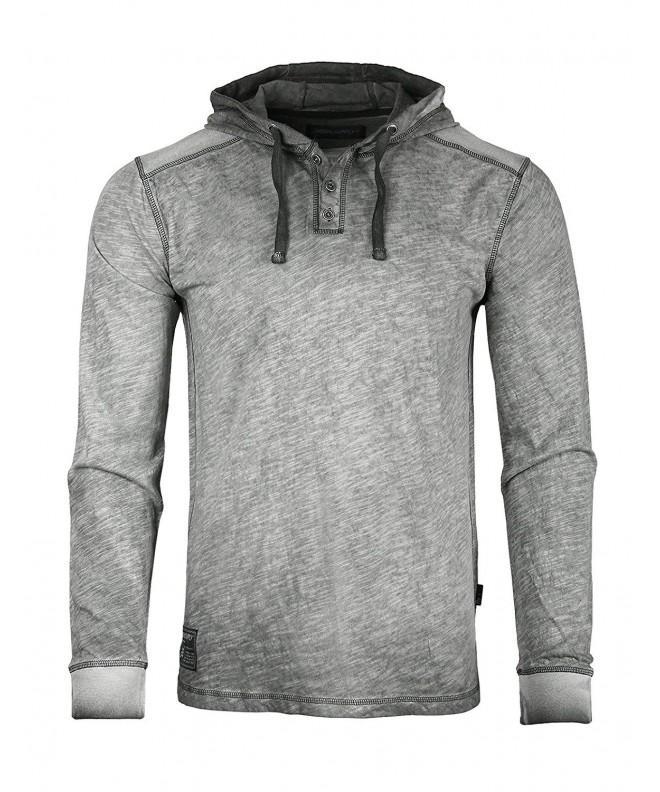 ZIMEGO Sleeve Vintage Garment Hooded