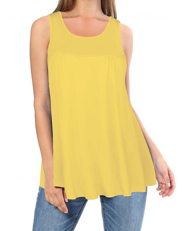 Kilig Summer Sleeveless Casual Yellow