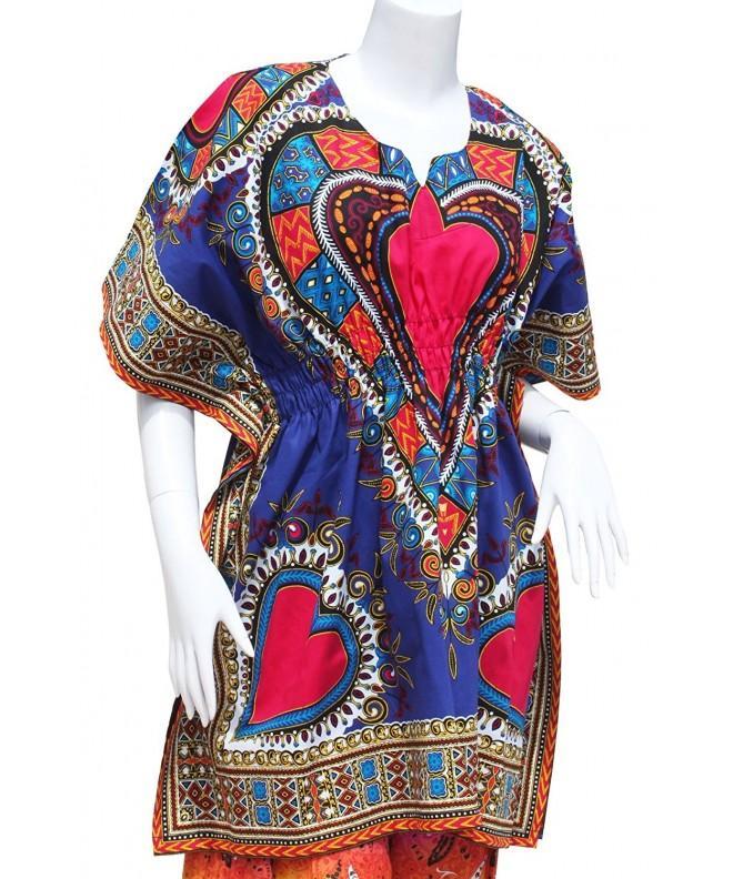 RaanPahMuang Heart Dashiki Elastic Collar