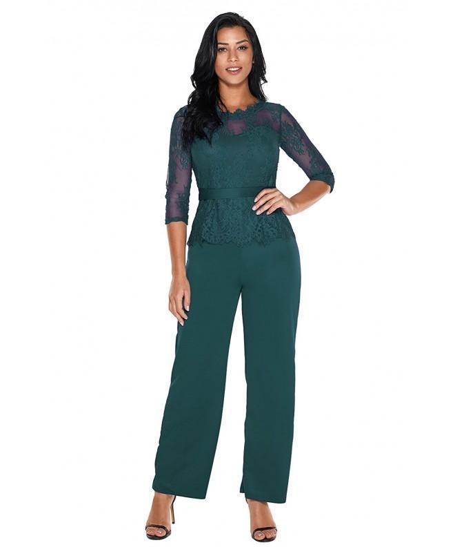 Elegant Women Sleeve Jumpsuit Rompers