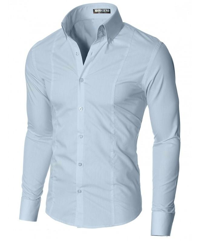 MODERNO Shirts Sleeve Button MSSF501