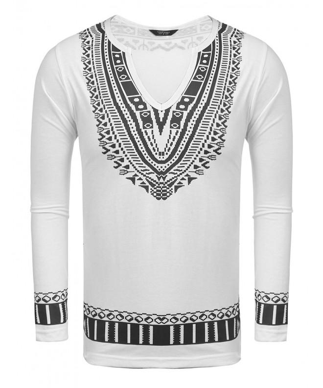 COOFANDY African Dashiki Fashion T Shirt