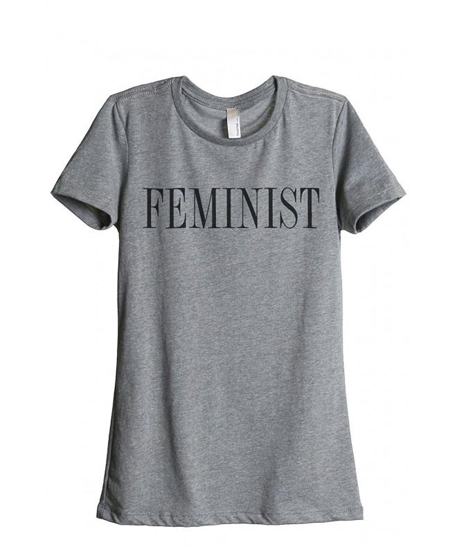 Feminist Feminism Relaxed T Shirt Heather