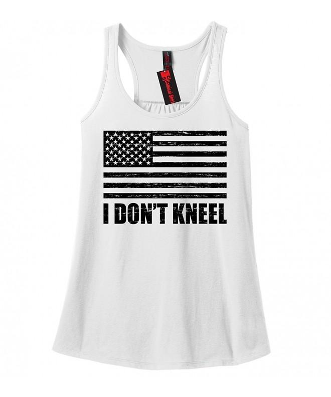 Comical Shirt Ladies Kneel White