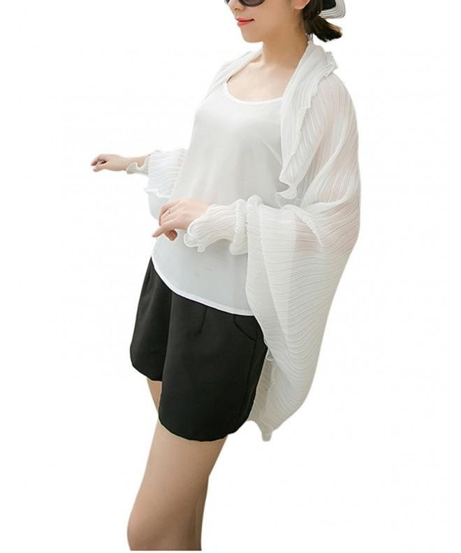 Fashion Chiffon Protection Blouses Sunscreen
