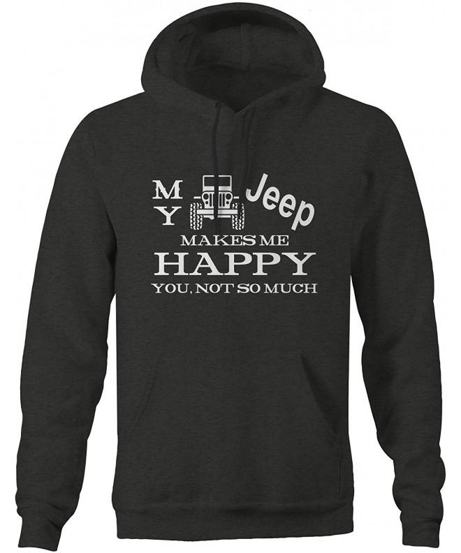 JEEP Wrangler Makes Happy Sweatshirt