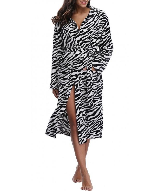 Coser Paradise Womens Hooded Bathrobe