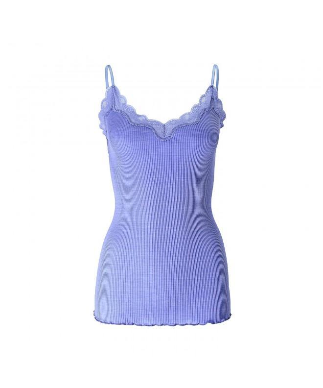SilRiver Camisole Layering Blue Melange
