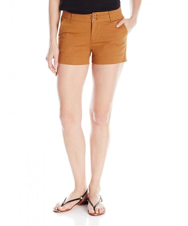 KAVU Womens Catalina Shorts Tobacco