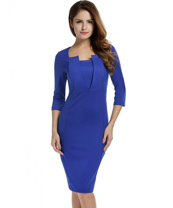 ANGVNS Elegant Sleeve Bodycon Package