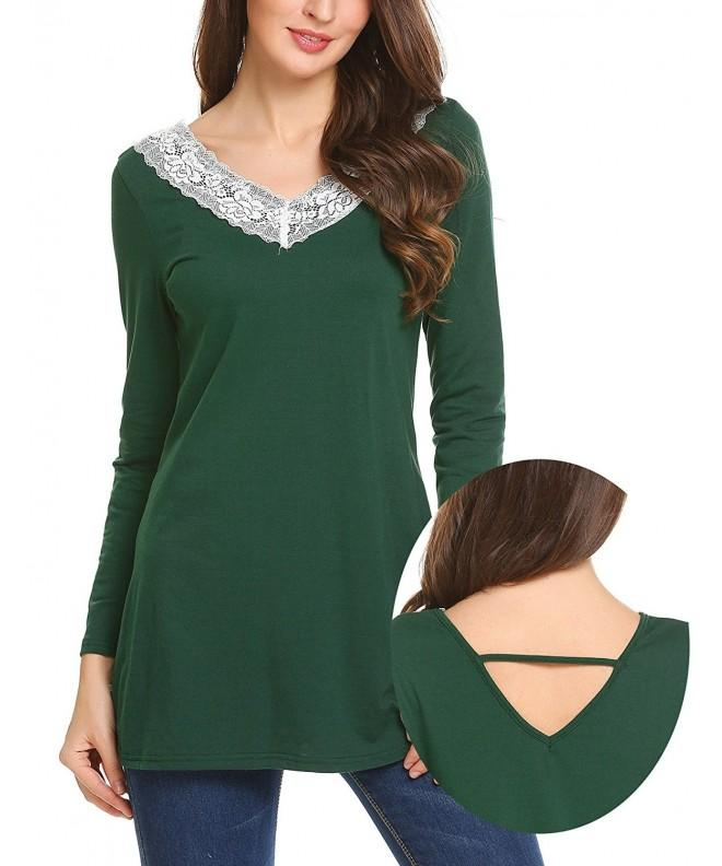 Unibelle Backless Collar T Shirts Blouses