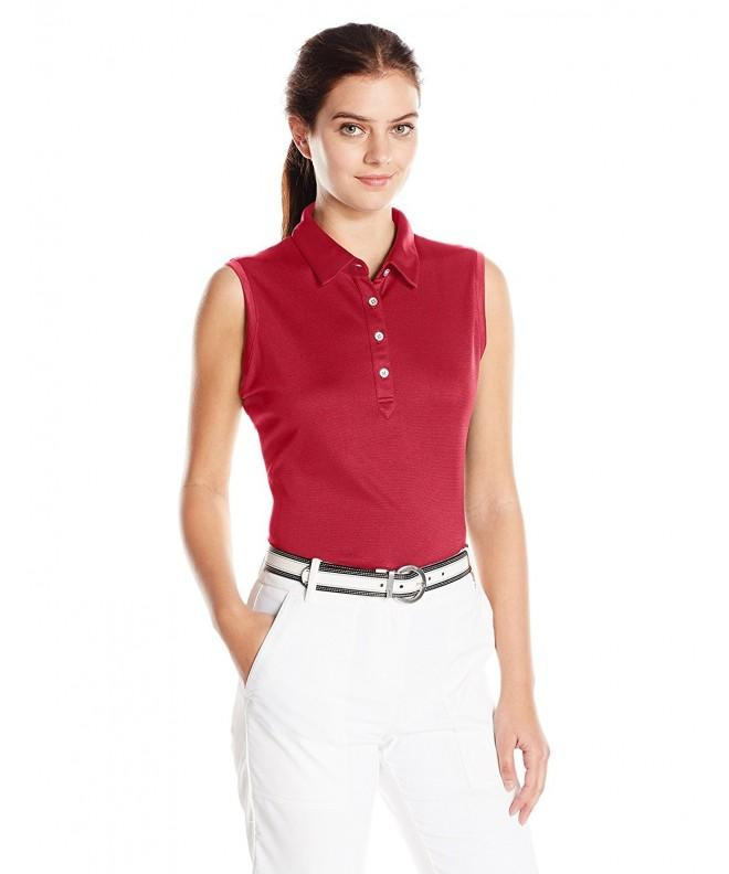 Cutter Buck Moisture Sleeveless Cardinal